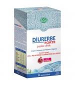 DIURERBE FORTE POCKET DRINK – Prodotto ideale per favorire l'eliminazione dei liquidi in eccesso – 24 bustine da 20 ml
