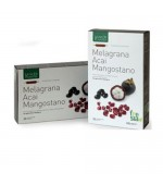 MELAGRANA, ACAI, MANGOSTANO - Potente antiossidante, mantiene in salute cuore, prostata e pelle - 20 ampolle da 15 ml