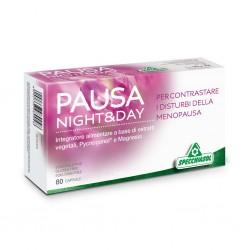PAUSA NIGHT & DAY – Utile contro vampate, irritabilità e risvegli frequenti tipici della menopausa – 80 capsule