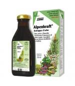 ALPENKRAFT SCIROPPO D'ERBE – Dall'azione emolliente e lenitiva per il benessere di naso e gola - 250 ml