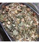 AROMA 10 – Tisana composta per il benessere delle vie respiratorie. Allontana tosse, raffreddore e irritazioni alla gola – 100 gr