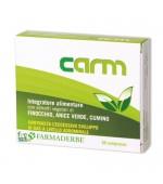 CARM - Migliora la digestione e dona benessere all'intestino. Riduce il gonfiore. - 30 compresse