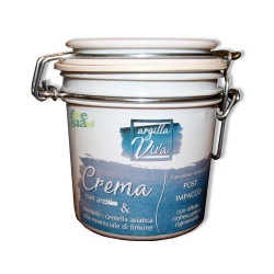 Argilla Viva – Crema marina post-impacco con mentolo dall'azione rinfrescante e rigenerante – 500 ml