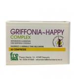 GRIFFONIA HAPPY COMPLEX – Favorisce l'ottimismo: migliora il tono dell'umore e allontana l'ansia - 30 Compresse