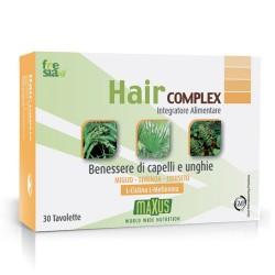 HAIR COMPLEX – Prodotto completo capelli e unghie con funzione  ricostituente e di sostegno - 30 tavolette 5f278efad5c4
