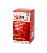 HAIR PLUS – Prodotto formulato per mantenere in perfetta salute capelli e unghie. Contrasta la caduta - 60 compresse rivestite