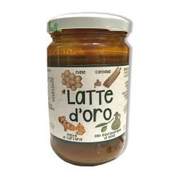 LATTE D'ORO GOLDEN MILK – Bevanda ricchissima di antiossidanti per una salute d'oro – 300 gr