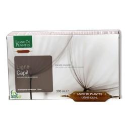 LIGNE CAPIL – Favorisce la crescita dei capelli. Contrasta la caduta e la comparsa di capelli bianchi - 20 ampolle bevibili da 15 ml