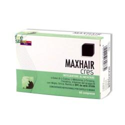 MAXHAIR CRES – Prodotto indicato per mantenere capelli sani e belli. Mantiene unghie e pelle in salute - 60 compresse