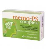 MEMO-PS COMPLEX – Favorisce le normali funzioni cognitive. Migliora memoria e concentrazione -  30 capsule