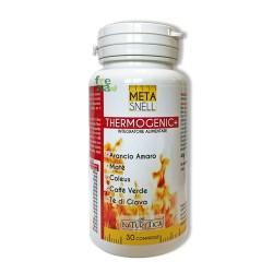 """META SNELL THERMOGENIC + - Prodotto """"brucia-calorie"""" ideale per il controllo e la riduzione del peso corporeo - 30 compresse"""