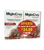 MIGLIOCRES CAPELLI - Migliora lo stato dei capelli e ne promuove la crescita. Dona vitalità e contrasta la caduta - 120 capsule