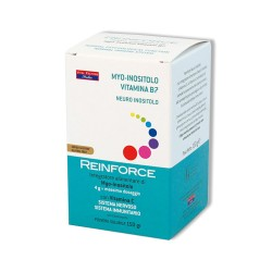 REINFORCE NEURO INOSITOLO – Favorisce il normale funzionamento del sistema nervoso e supporta le difese – 150 gr