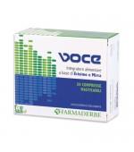 NUTRA VOCE – Apporta benessere alla gola irritata e dolorante. Sostiene il normale tono di voce - 20 Compresse masticabili