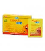 PROPOLAID FLU GUSTO MENTA–  Fluidifica le secrezioni bronchiali e sfiamma la gola irritata. Calma la tosse - 10 Bustine