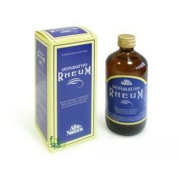 DEPURATIVO RHEUM – Eccellente depurativo-disintossicante. Favorisce il benessere dell'intero organismo - 250 ml