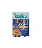 RIPARO GOLA PROPOLI –  Facilita la respirazione: aiuta a contrastare la tosse, sia secca che grassa -  20 ampolline gelatinose