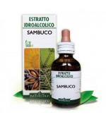 ESTRATTO IDROALCOLICO DI SAMBUCO - Indicato in caso di raffreddore, tosse, bronchiti e faringiti - 50 ml