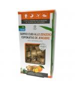 SOFFICI CUBI ALLO ZENZERO gusto arancia – Il piacere e i benefici dello Zenzero per digestione e respirazione – 60 g