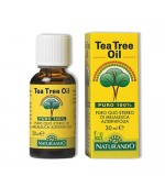 TEA TREE OIL PURO 100% - Disinfettante, antibatterico ed antimicotico naturale d'elezione - 30 ml