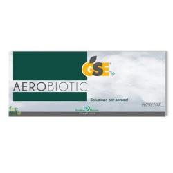 GSE AEROBIOTIC – Fluidifica le secrezioni e favorisce la rimozione del muco. Libera le vie respiratorie  - 10 fiale da 5 ml per aerosol