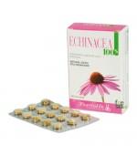 ECHINACEA 100% - Stimola le naturali difese dell'organismo. Contrasta tosse, cefalea e raffreddore - 60 compresse