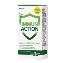 IMMUN ACTION – Coadiuva le naturali difese dell'organismo e contrasta l'attacco da parte di virus e batteri - 60 capsule