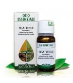 TEA TREE OLIO ESSENZIALE NATURALE PURO 100% - Vanta proprietà disinfettanti, antimicotiche ed espettoranti - 10 ml