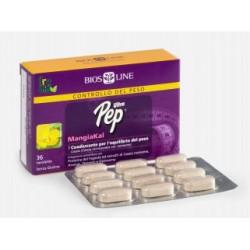 ULTRA PEP MANGIAKAL - Sconfigge gonfiore, fame e ritenzione idrica. Indicato per perdere peso senza stress  - 36 tavolette