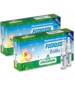 FISIOSOL 7 ZOLFO OLIGOELEMENTO - utile nel trattare dermatiti e acne e disfunzioni epato-biliari - 20 fiale per via orale