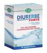 DIURERBE FORTE – Effetto diuretico immediato: contrasta la ritenzione idrica ed elimina le tossine -  40 tavolette rivestite