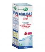 DIURERBE FORTE DRINK – Finalizzato all'eliminazione del ristagno di liquidi con efficace risultato snellente – 500 ml