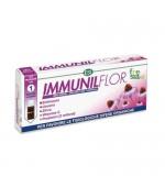 IMMUNILFLOR – Ideato per favorire le fisiologiche difese dell'organismo. Rafforza il sistema immunitario - 12 Minidrink