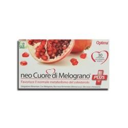 NEO CUORE DI MELOGRANO PLUS – Abbassa colesterolo e trigliceridi e mantiene il cuore in salute – 30 compresse