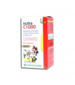 NUTRA C 1000 - Valido antiallergico. Combatte i sintomi da raffreddamento e aumenta le difese - 24 tavolette masticabili