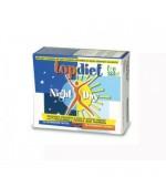 TOP DIET NIGHT DAY  - Accelera il metabolismo, brucia i grassi e calma il senso di fame. Migliora il riposo notturno  -  30 Compresse